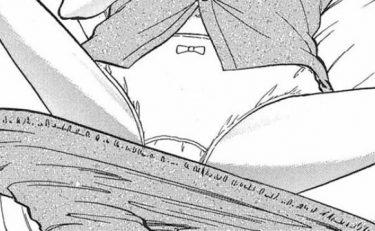 寝ているはずのJCの綿パンツにエッチなシミが?エロマンガレビュー♥オネショタ初体験♡