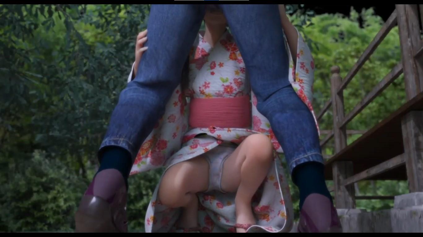 3dcg-js-cotton-panty-around-leg-sex